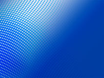 Halftone blue abstract background Stock Images