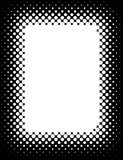Halftone Border Royalty Free Stock Images
