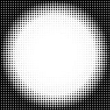 Halftone circle background Royalty Free Stock Photo
