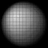 Halftone Circle Texture Stock Images