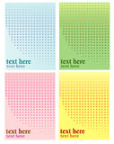 Halftone, Circles Background Stock Photo