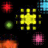 Halftone colorful background Royalty Free Stock Photo