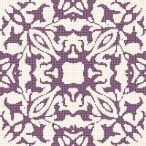 Halftone colorful seamless retro pattern elegant purple geometry Stock Image