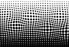 Halftone, convex moving pattern texture pointillism abstract bac vector illustration