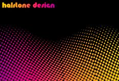 Halftone deisgn Royalty Free Stock Photography