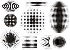 Halftone design Royalty Free Stock Image