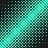 Halftone diagonal square background pattern template - vector graphic. Halftone diagonal square background pattern template - abstract vector graphic Stock Illustration