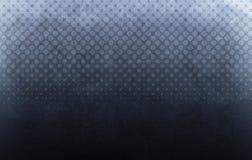 Halftone donkerblauwe achtergrond royalty-vrije stock foto's