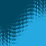 Halftone dot background design. Blue halftone dot background design Royalty Free Stock Photo