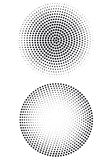 Halftone dot pattern,  Stock Photography