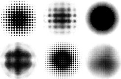 Halftone dots Royalty Free Stock Photos