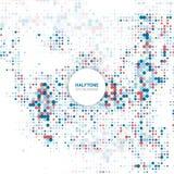 Halftone dots background 2501 Stock Photo