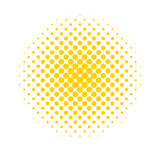 Halftone dots. Colored, abstract background in Pop Art style Stock Photography