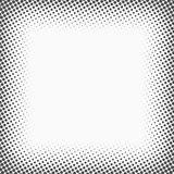 Halftone dots. Monochrome vector texture background for prepress, DTP, comics, poster. Pop art style template royalty free illustration