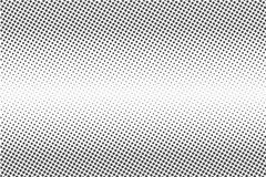 Halftone dots. Monochrome vector texture background for prepress, DTP, comics, poster. Pop art style template stock illustration