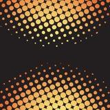 halftone dots retro vector vector illustration