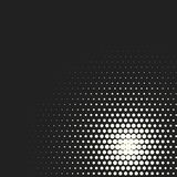 Vector monochrome circles halftone background. Halftone dots. Vector black and white circles halftone background. Geometric vintage monochrome fade wallpaper Royalty Free Stock Photos