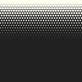 Vector monochrome circles halftone background. Halftone dots. Vector black and white circles halftone background. Geometric vintage monochrome fade wallpaper Royalty Free Stock Photography