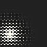 Vector monochrome circles halftone background. Halftone dots. Vector black and white circles halftone background. Geometric vintage monochrome fade wallpaper Royalty Free Stock Image