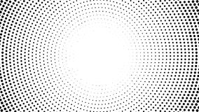 Halftone dotted background. Halftone effect vector pattern. Circle dots isolated on the white background. stock illustration