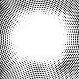 Halftone dotted background randomly distributed. Halftone effect royalty free illustration