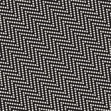Halftone Edgy Lines Mosaic Endless Stylish Texture. Vector Seamless Black and White Pattern. Halftone Edgy Lines Mosaic Endless Stylish Texture. Abstract Stock Photography