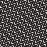 Halftone Edgy Lines Mosaic Endless Stylish Texture. Vector Seamless Pattern Stock Photos