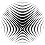 Halftone Element Abstracte geometrische grafisch met halftint patt royalty-vrije illustratie