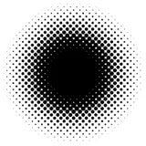 Halftone element, circular halftone pattern. Specks, halftone ci. Rcle gradient  - Royalty free  illustration Royalty Free Stock Images
