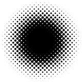 Halftone element, circular halftone pattern. Specks, halftone ci. Rcle gradient  - Royalty free  illustration Royalty Free Stock Photos