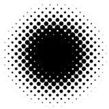 Halftone element, circular halftone pattern. Specks, halftone ci. Rcle gradient  - Royalty free  illustration Stock Photography