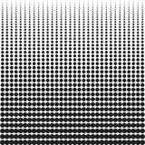 halftone Fondo con los puntos de diverso tamaño Capa manchada Dots Texture de los círculos Fotos de archivo
