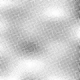 halftone Fondo de semitono del vector del Grunge El tono medio puntea textura del vector Fondo punteado extracto Imagen de archivo
