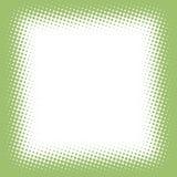 Halftone frame Royalty-vrije Stock Afbeelding