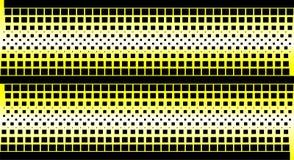 Halftone gele achtergrond Royalty-vrije Stock Afbeeldingen