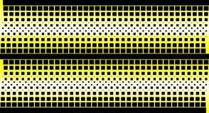 Halftone gele achtergrond royalty-vrije illustratie