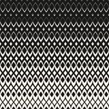 Halftone geometric pattern with diamond shapes, mesh grid Stock Images