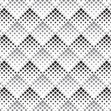 Halftone geometric square diamond shape pattern. vector pattern.graphic clean design for fabric, event, wallpaper etc. Royalty Free Stock Photography