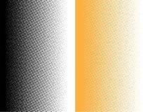 Halftone gradiëntpunten Stock Fotografie