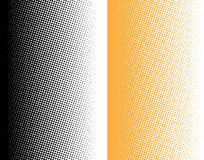 Halftone gradient dots Stock Photography