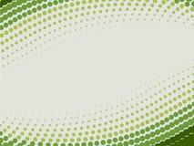 Halftone green  background Stock Photo