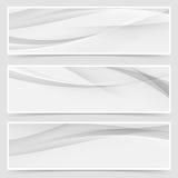Halftone grey abstract line header layout vector illustration