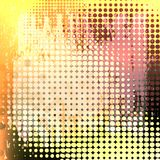 Halftone grunge Stock Photography