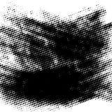 Halftone Grunge Background stock illustration