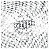 Halftone grunge texture. Vector illustration. Ready for print, web and other design Stock Images