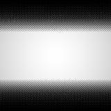 Halftone horizontal abstract black dots design element  Royalty Free Stock Photo