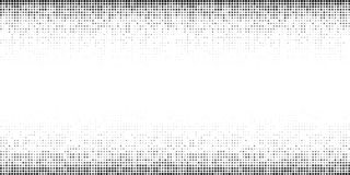 Halftone horizontal gradient pattern. Background using halftone random dots texture. Grunge backdrop. Technology. Vector. Halftone horizontal gradient pattern stock illustration
