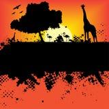 Halftone inkt splat grunge Royalty-vrije Stock Afbeeldingen