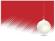Halftone Kerstmis Stock Afbeeldingen