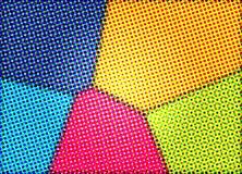 Halftone Kleuren stock afbeeldingen